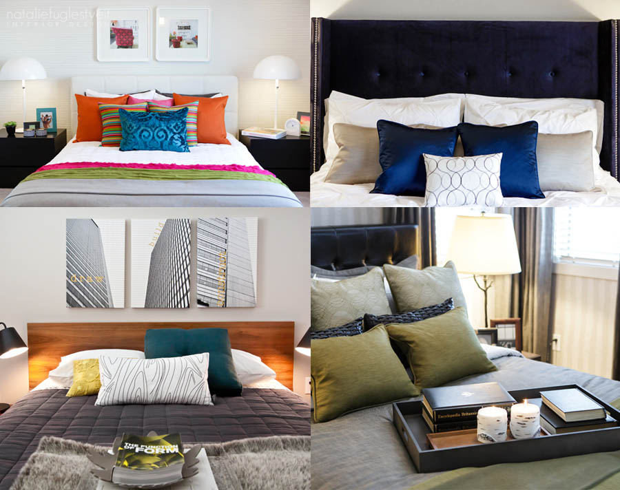 Modern Beds by Calgary Interior Designer
