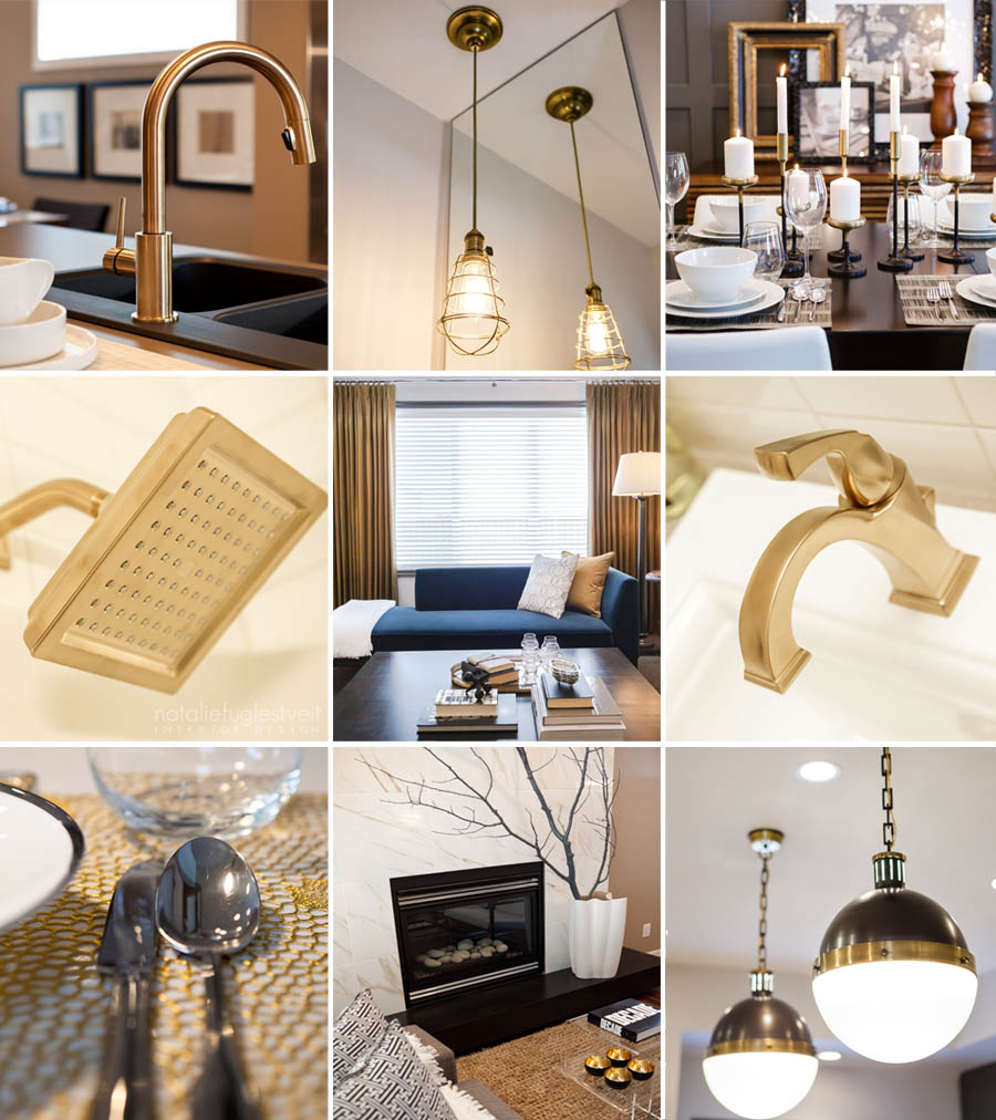 Gold in Interiors, Gold In Interior Design, Gold Drapery, Gold Faucet, Gold Light, Calgary Interior Designer, Calgary Interior Designers, Use of Gold in Design, Gold Finishes, Gold Finishes in Interiors
