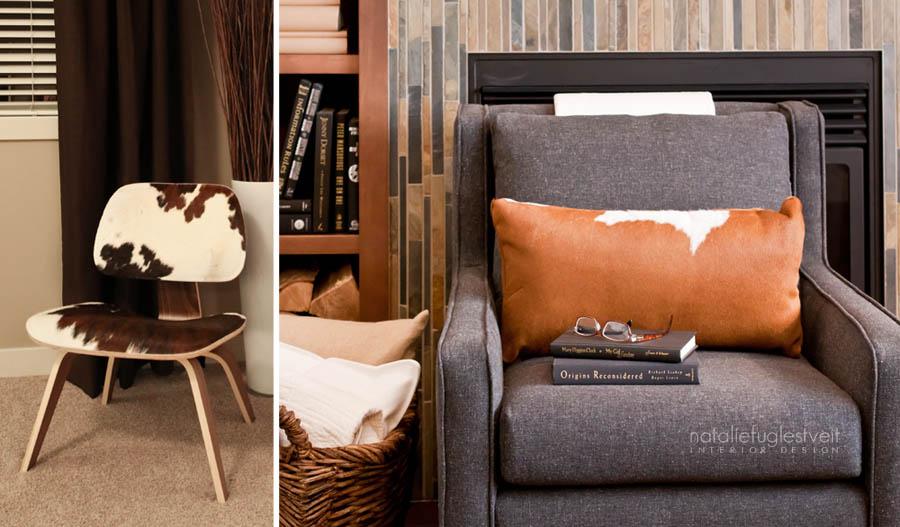 Fabulous Chairs by Calgary Interior Designer