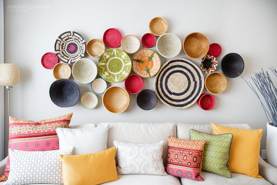 Moroccan Bohemian Chic Modern Interior by Calgary Interior Designer.