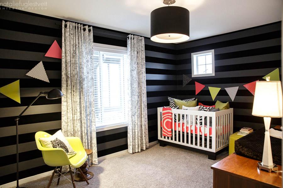Modern Baby Rm by Calgary Interior Designer 1
