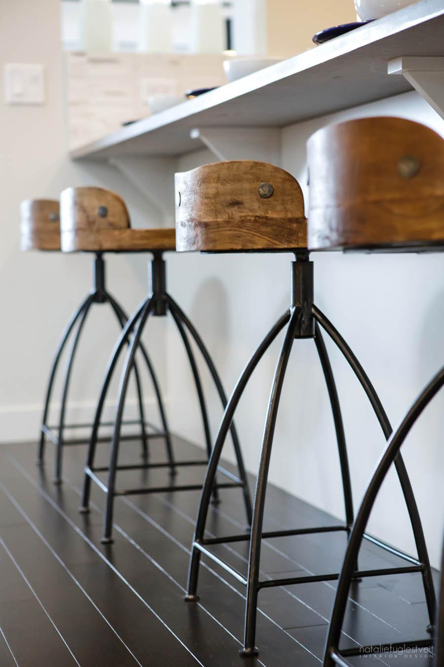White Rustic Kitchen by Calgary Interior Designer 2