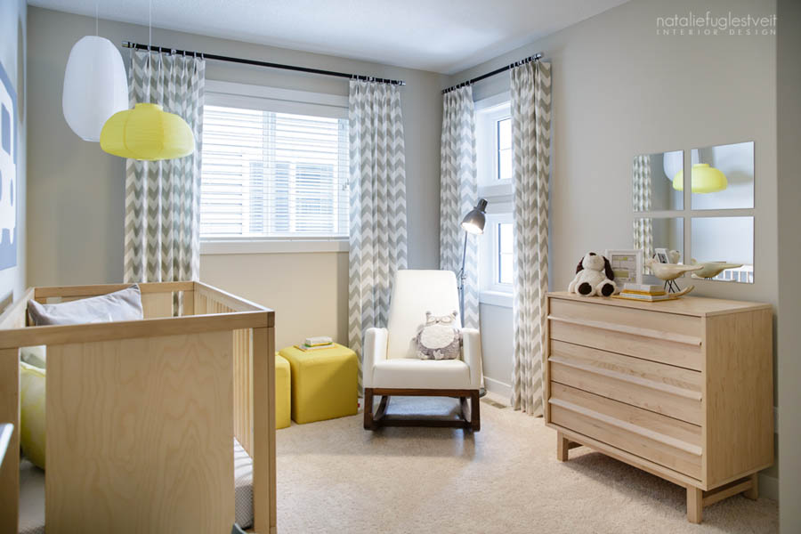 Fun Baby Room Design By Calgary Interior Designer