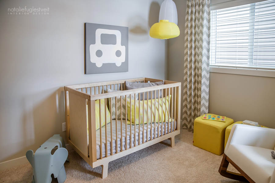 FUN Baby Room Design 2 by Calgary Interior Designer