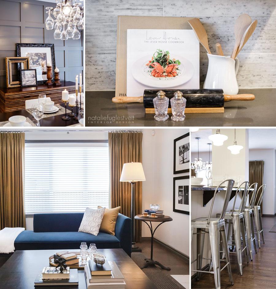 Quick Style #2 Bistro Elegance by Calgary Interior Designer