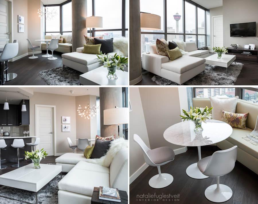 Calgary Downtown Condo By Calgary Interior Designer ...
