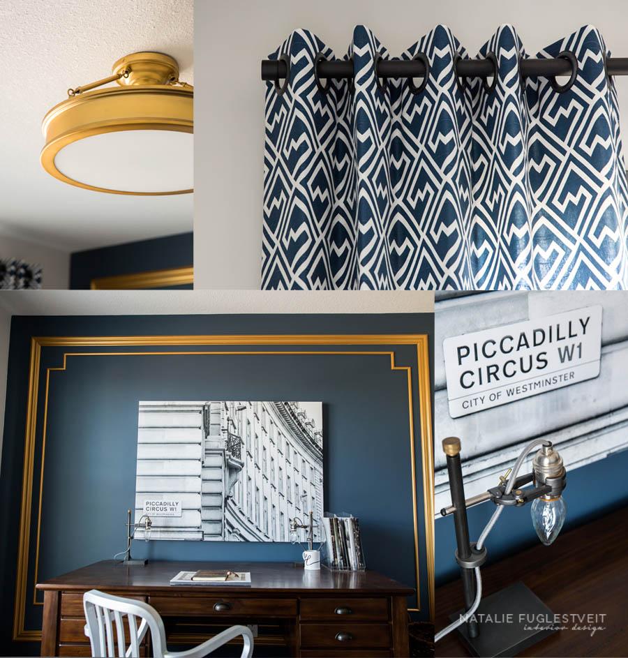 Traditional Office Loft by Calgary Interior Designer 2