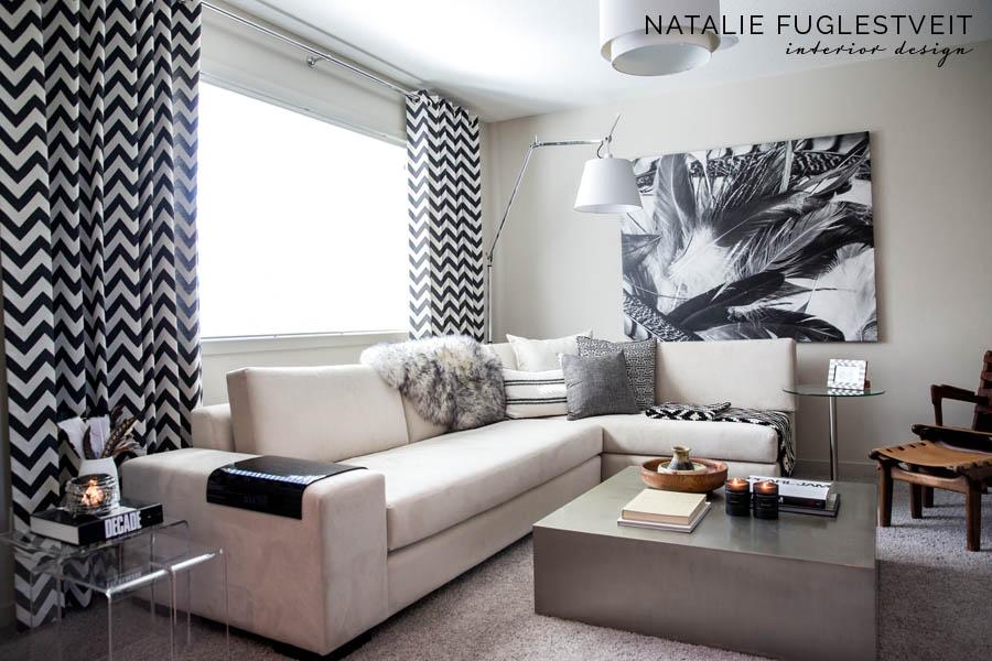 Mohave Modern Bonus Room by Calgary Interior Designer