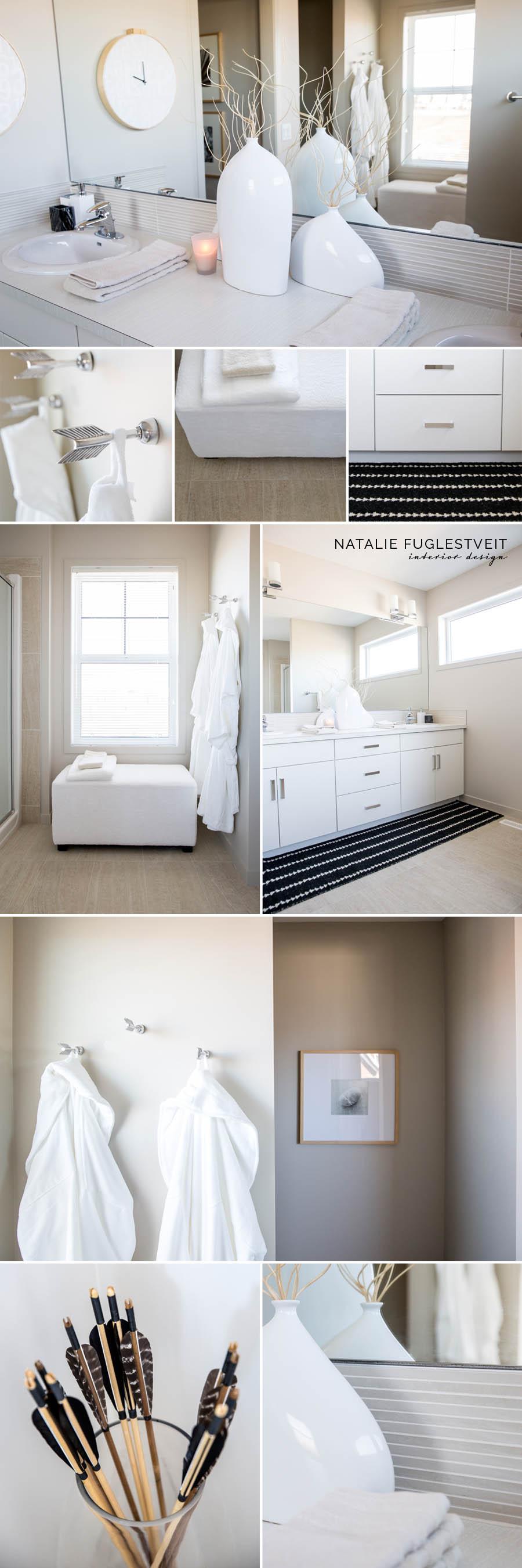 Organic Modern Ensuite by Calgary Interior Designer