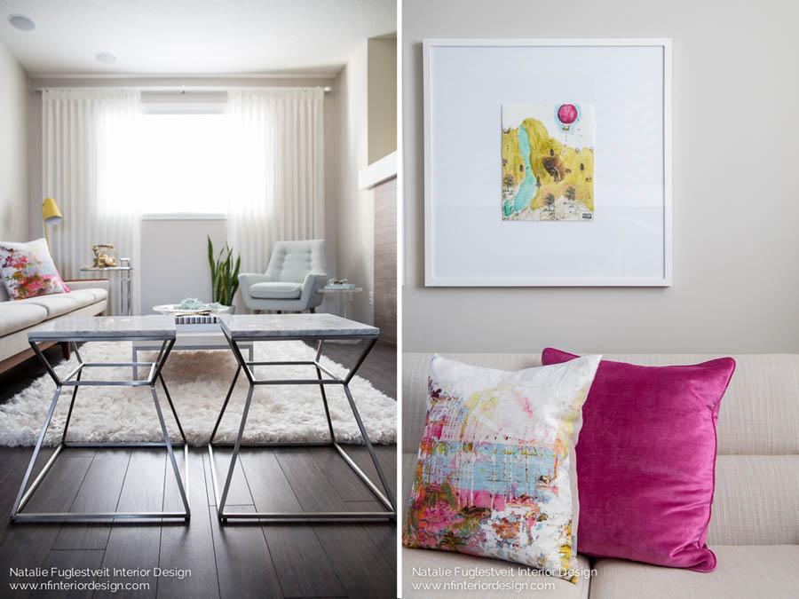 Cali Chic Living Room 7 by Calgary Interior Designer