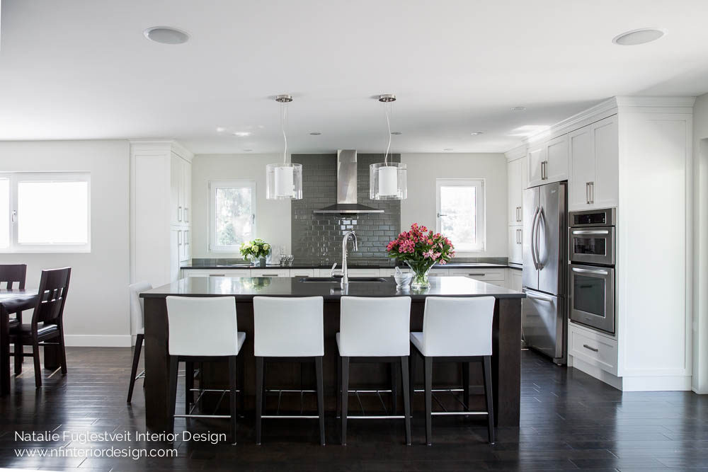 Relaxed refined kitchen by calgary interior designer for Interior designs red deer