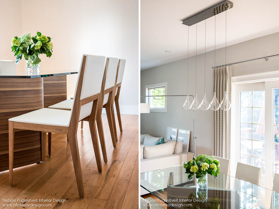 Dining in Spring by Calgary Interior Designer