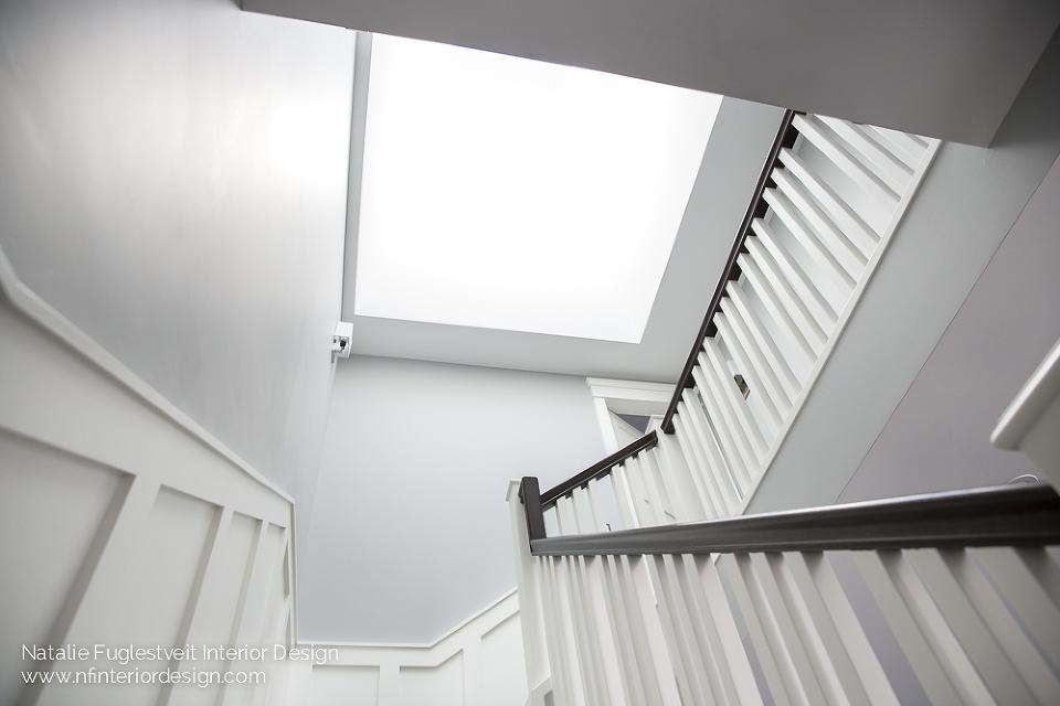 Stunning Stairwell by Calgary Interior Designer 2