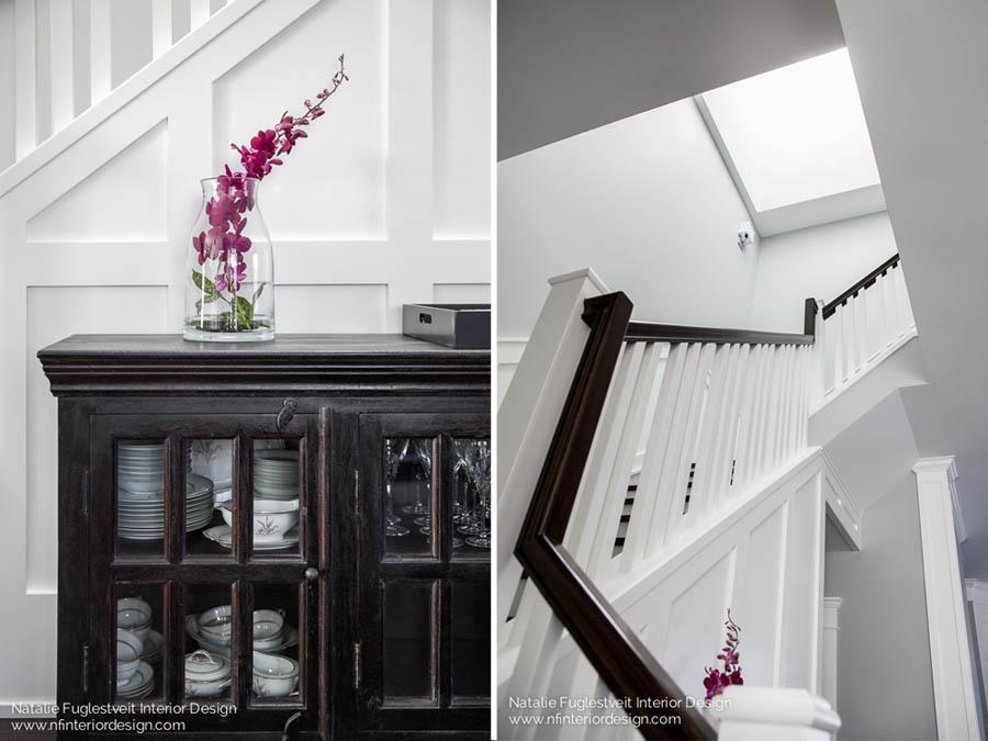 Stunning Stairwell by Calgary Interior Designer 4