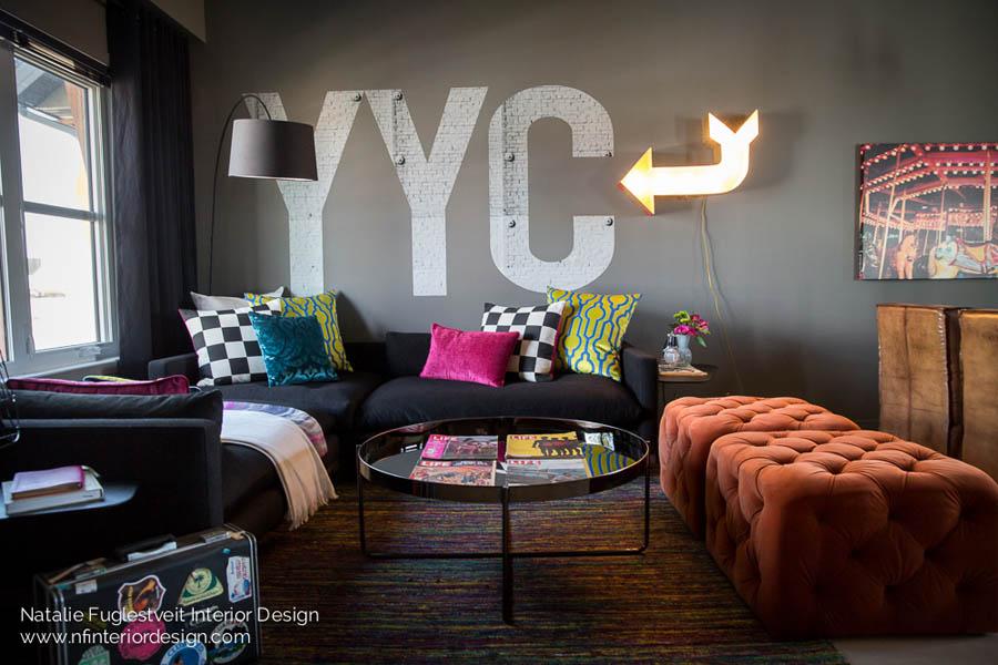 Garage Grunge By Calgary Interior Designer 8 ...