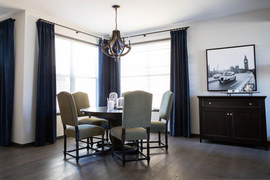 window treatments custom dry by calgary interior design firm natalie fuglestveit interior design