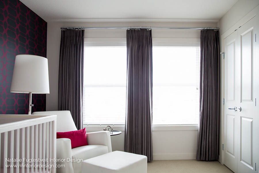 Window treatments custom drapery by calgary interior for Interior design window treatments