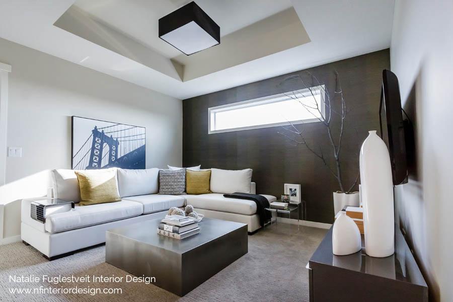 Designer Wallpaper by Calgary Interior Design Firm Natalie