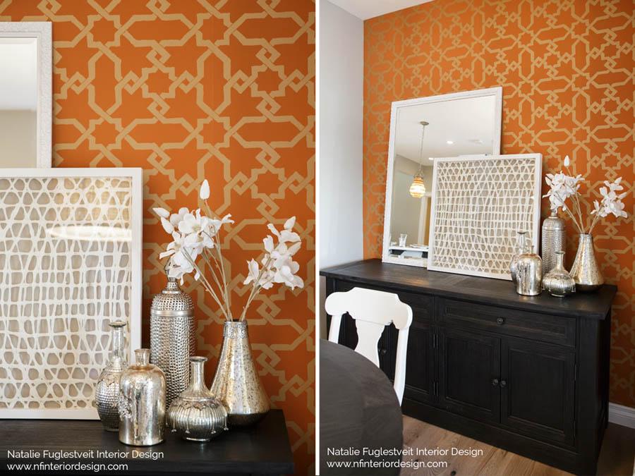Designer Wallpaper By Calgary Interior Design Firm » Natalie Fuglestveit Interior  Design