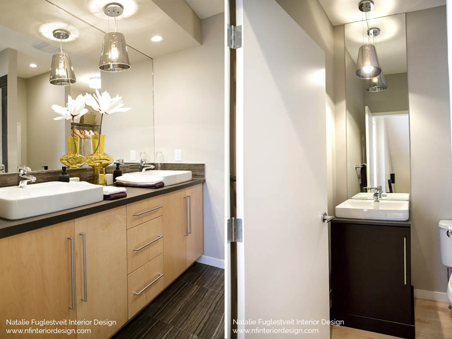 Modern Black And Yellow By Calgary Interior Designer Natalie Fuglestveit Design
