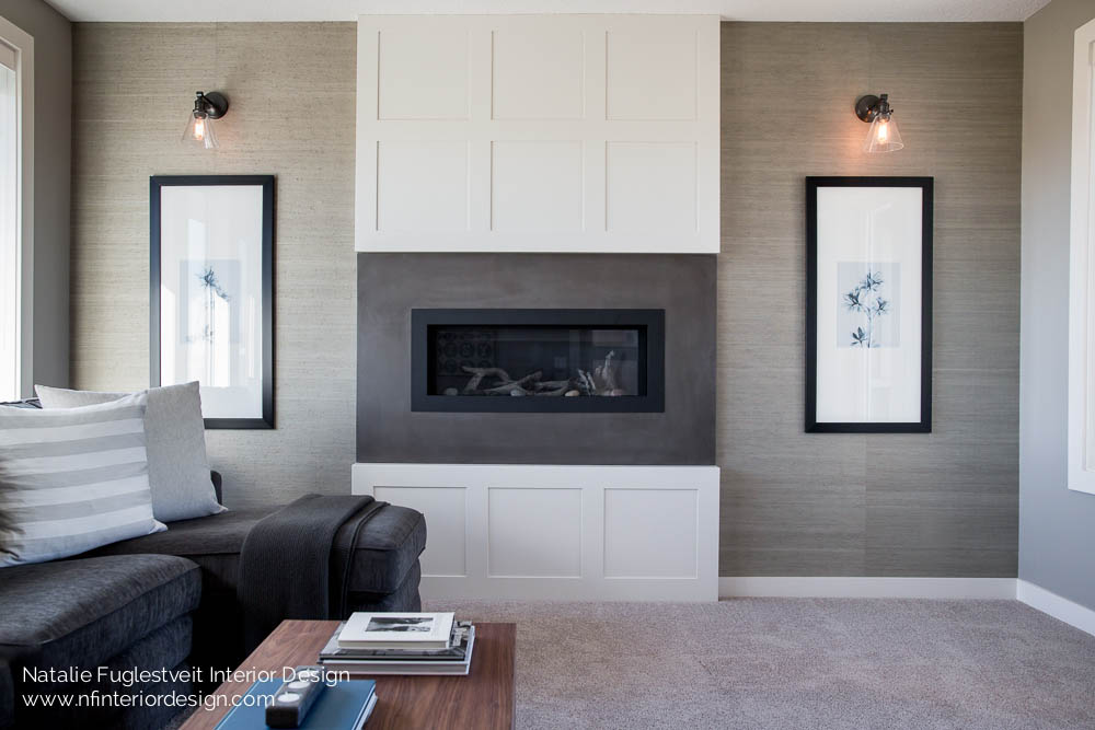 Okotoks family room renovation by calgary interior design for Interior designs red deer
