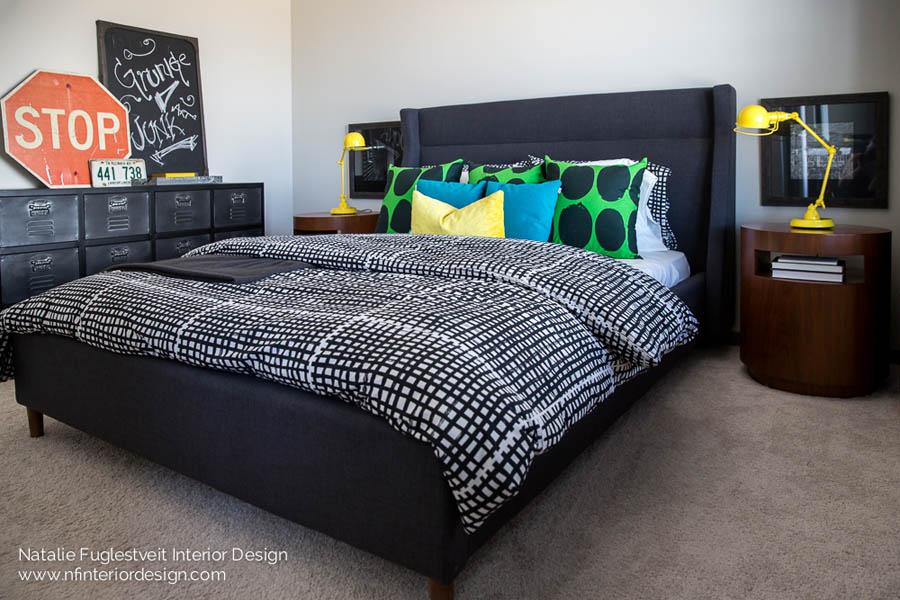 Street Mode Bedroom By Canadian Interior Designer Natalie Fuglestveit Interior Design