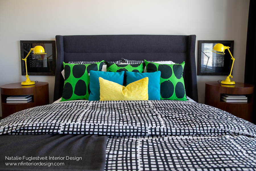 Street Mode Master Bedroom By Canadian Interior Designer Natalie Fuglestveit Design 8