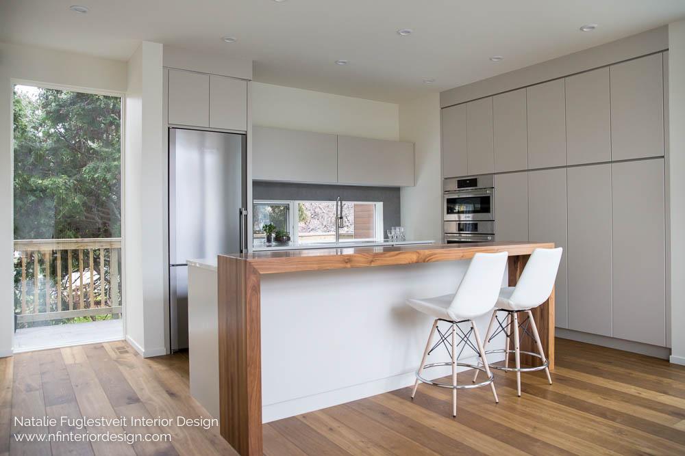Briar hill interior design a seamless modern kitchen