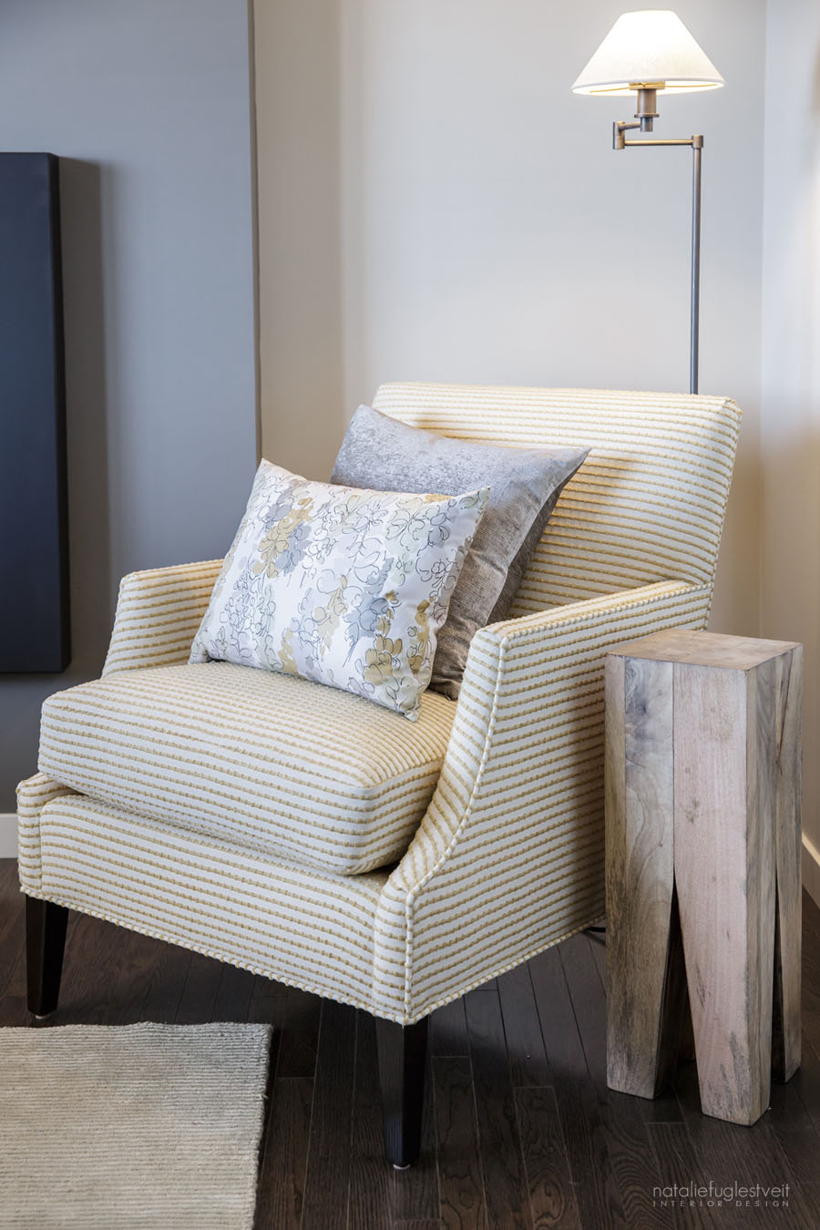 Silva 4 Home Lori Chair done by Calgary Interior Designer