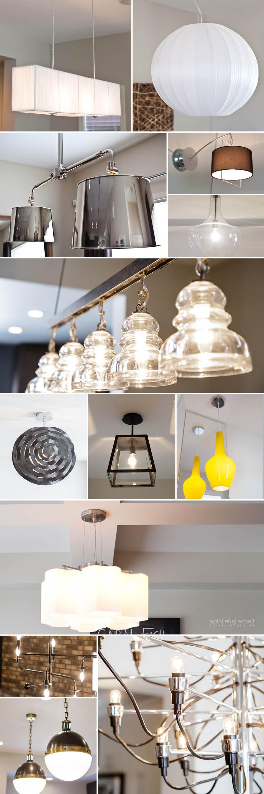 Interior Lighting by Calgary Interior Designer