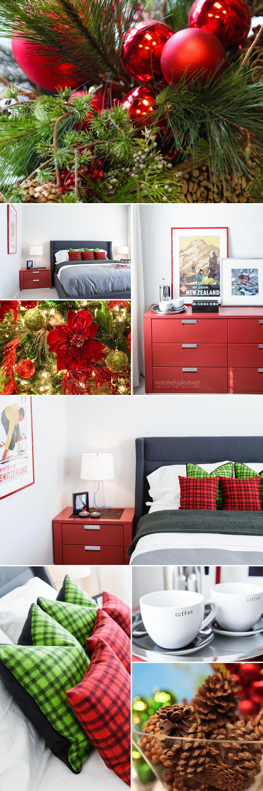 Red & Green Inspiration by Calgary Interior Designer