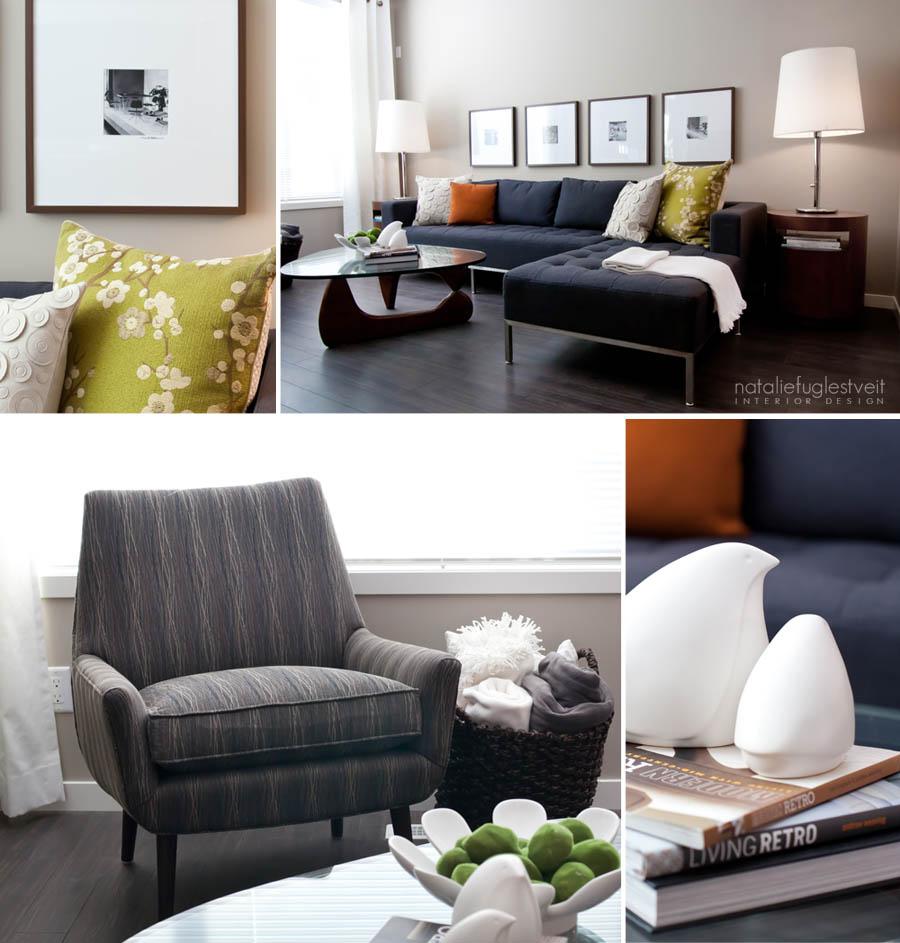 Quick Style #3 Casual Retro by Calgary Interior Designer