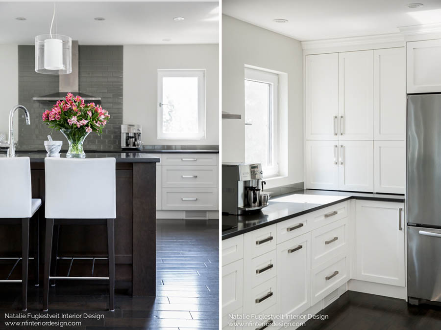 Relaxed & Refined Kitchen by Calgary Interior Designer