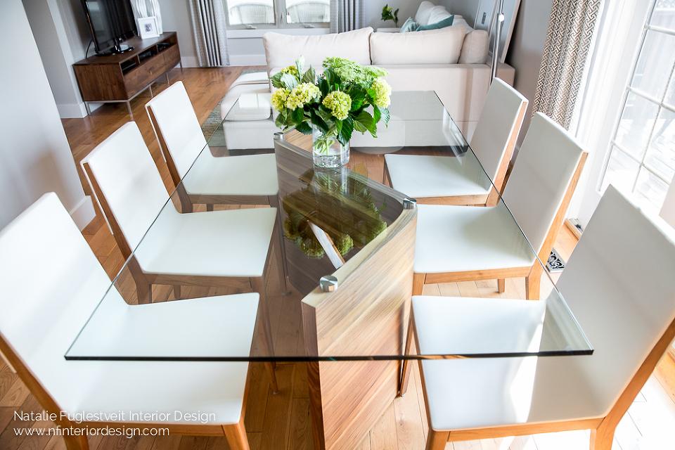 Dining in Spring by Calgary Interior Designer 4