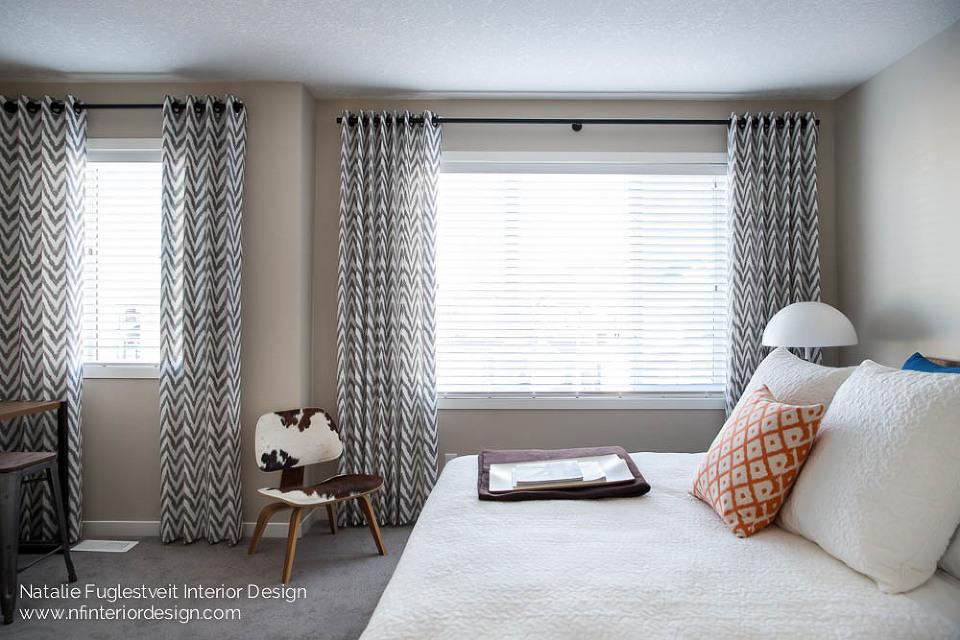 Summer Fun Bedroom by Calgary Interior Designer 4