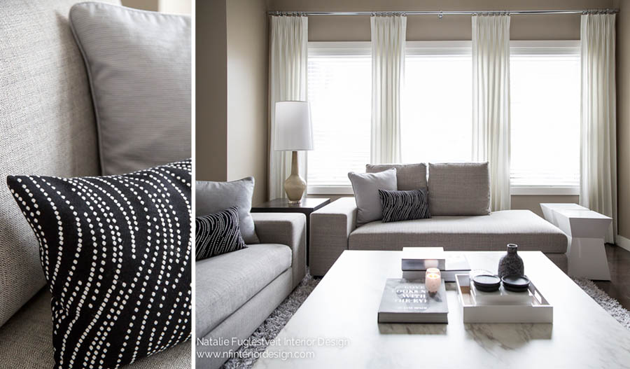 Modern Luxe Finishing Touches by Calgary Interior Designer 3