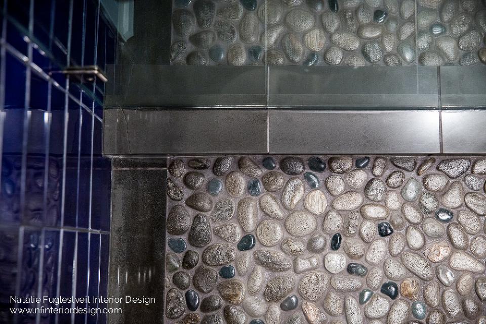 Elbow Park Basement Bathroom Renovation by Calgary Interior Designer