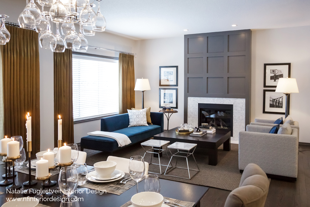 Metallics Trends by Calgary Interior Design Firm, Natalie Fuglestveit Interior Design