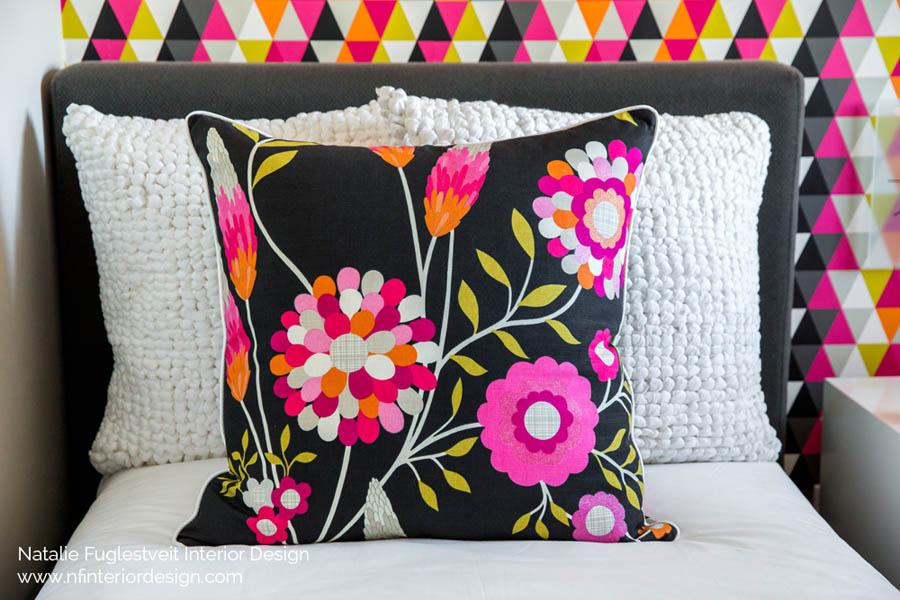 Vibrant Birls Bedroom by Calgary Interior Designer 2