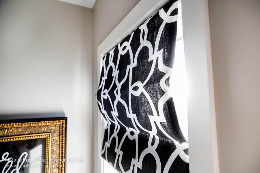 Custom Drapery & Window Treatments by Calgary Interior Designer