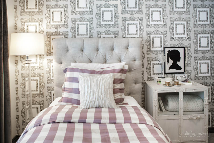 Blushing Bedroom Design by Calgary Interior Design Firm 2