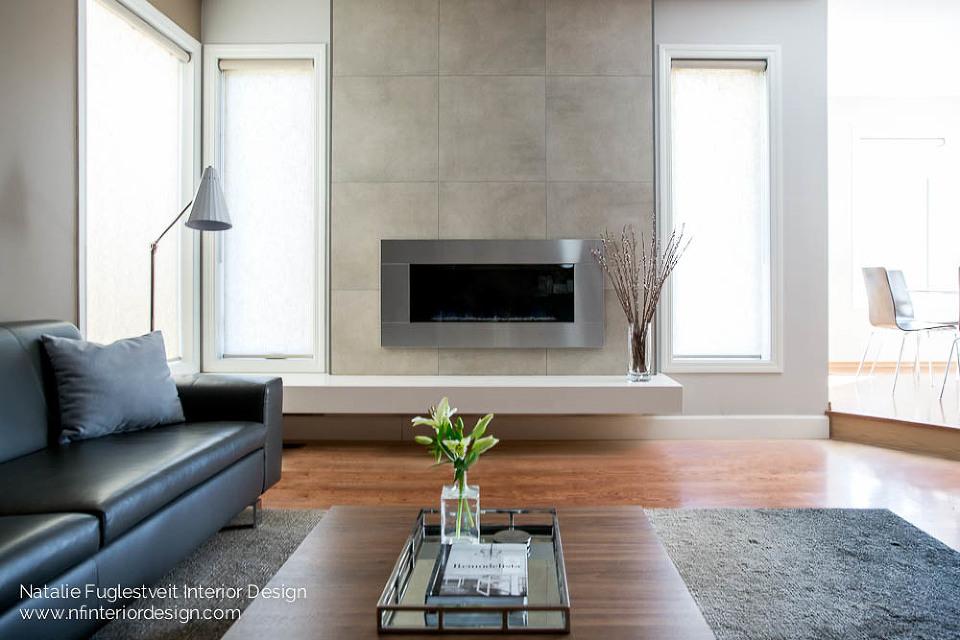 YYC Modern Fireplace Design Renovation by Calgary Interior Designer 4