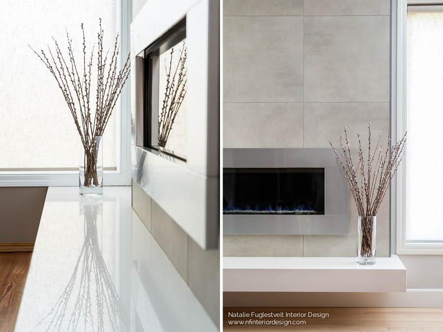 YYC Modern Fireplace Design Renovation by Calgary Interior Designer 6