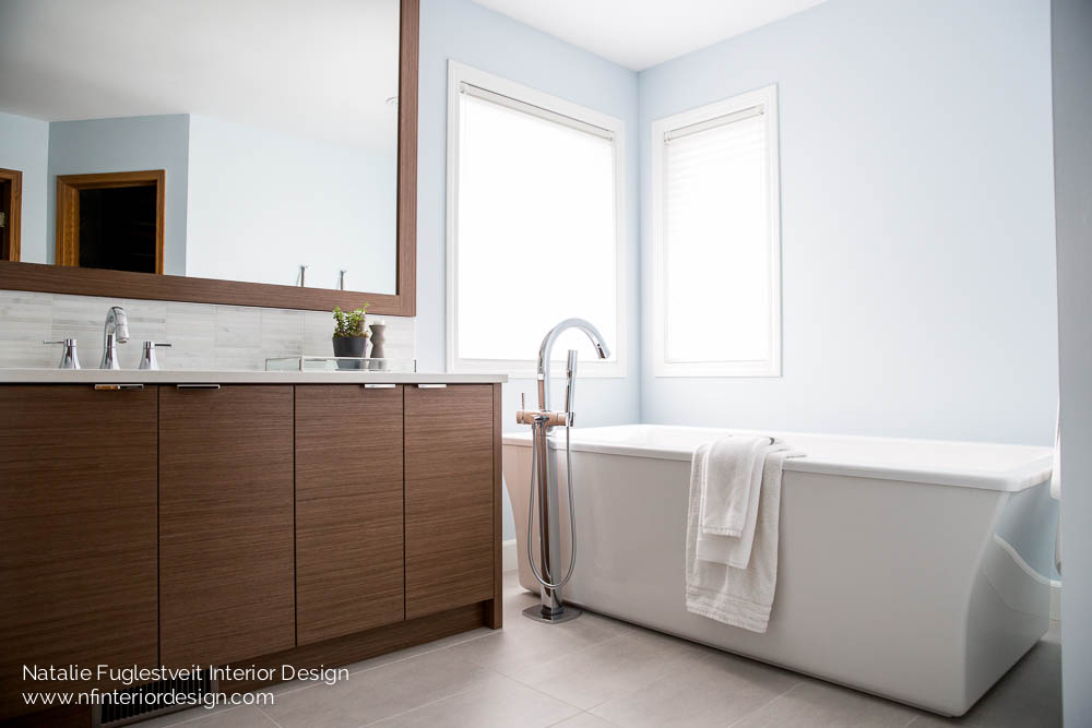 Bathroom Renovation by Calgary Interior Designer, Natalie Fuglestveit Interior Design 12
