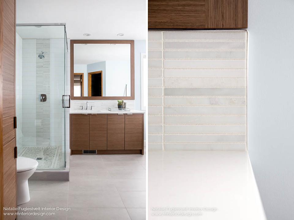 Bathroom Renovation by Calgary Interior Designer, Natalie Fuglestveit Interior Design 3