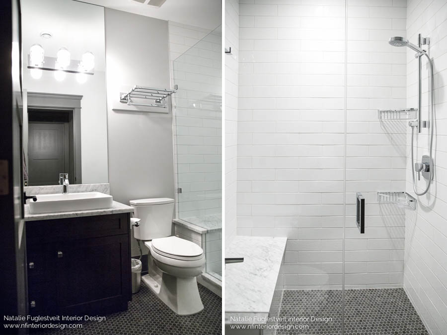 Designing A Basement Bathroom Natalie Fuglestveit Interior Design