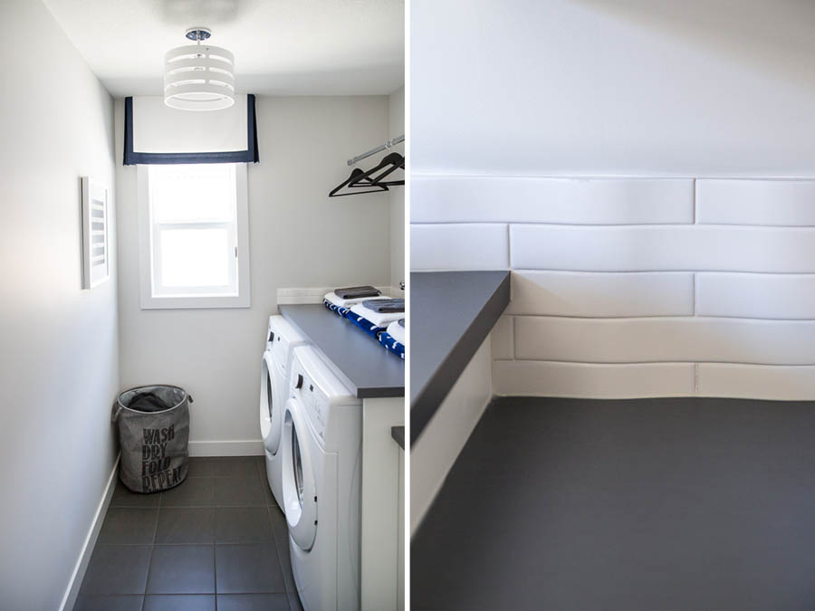 Laundry Room Design by Calgary Interior Design Firm, Natalie Fuglestveit Interior Design