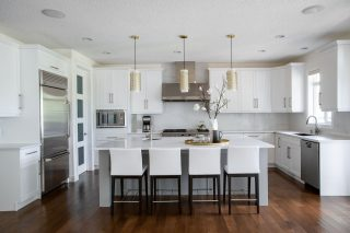 Beautiful Kitchen Design by Natalie Fuglestveit Interior Design, Kelowna Interior Design Firm.