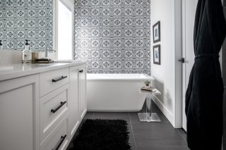 NFID Ensuite Design by West Kelowna Interior Designer, Natalie Fuglestveit Interior Design