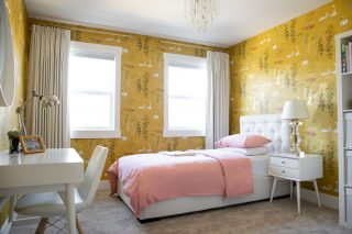 West Kelowna Girl's Bedroom Design Swan Lake
